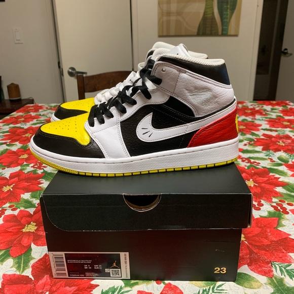 Custom Jordan Mickey Mouse Silhouette